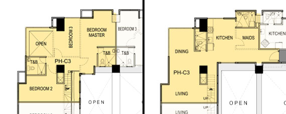 Floor plan (Penthouse)